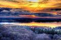 Sonnenuntergang, HDR